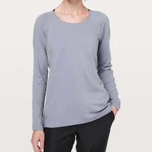 Lululemon LiLac Stone Emerald Long Sleeve